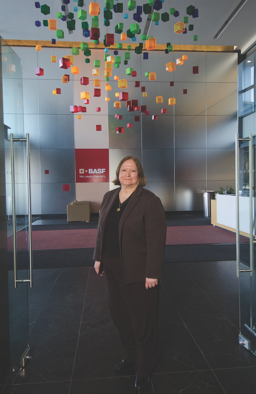 Julia Klees oversees the health of 16,000 employees spread across the country while they are on the job at BASF